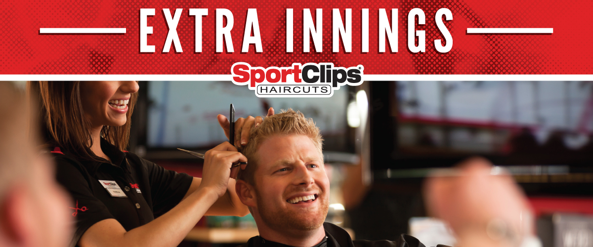 The Sport Clips Haircuts of Clifford Street Extra Innings Offerings