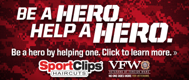 Sport Clips Haircuts of Clifford Street​ Help a Hero Campaign